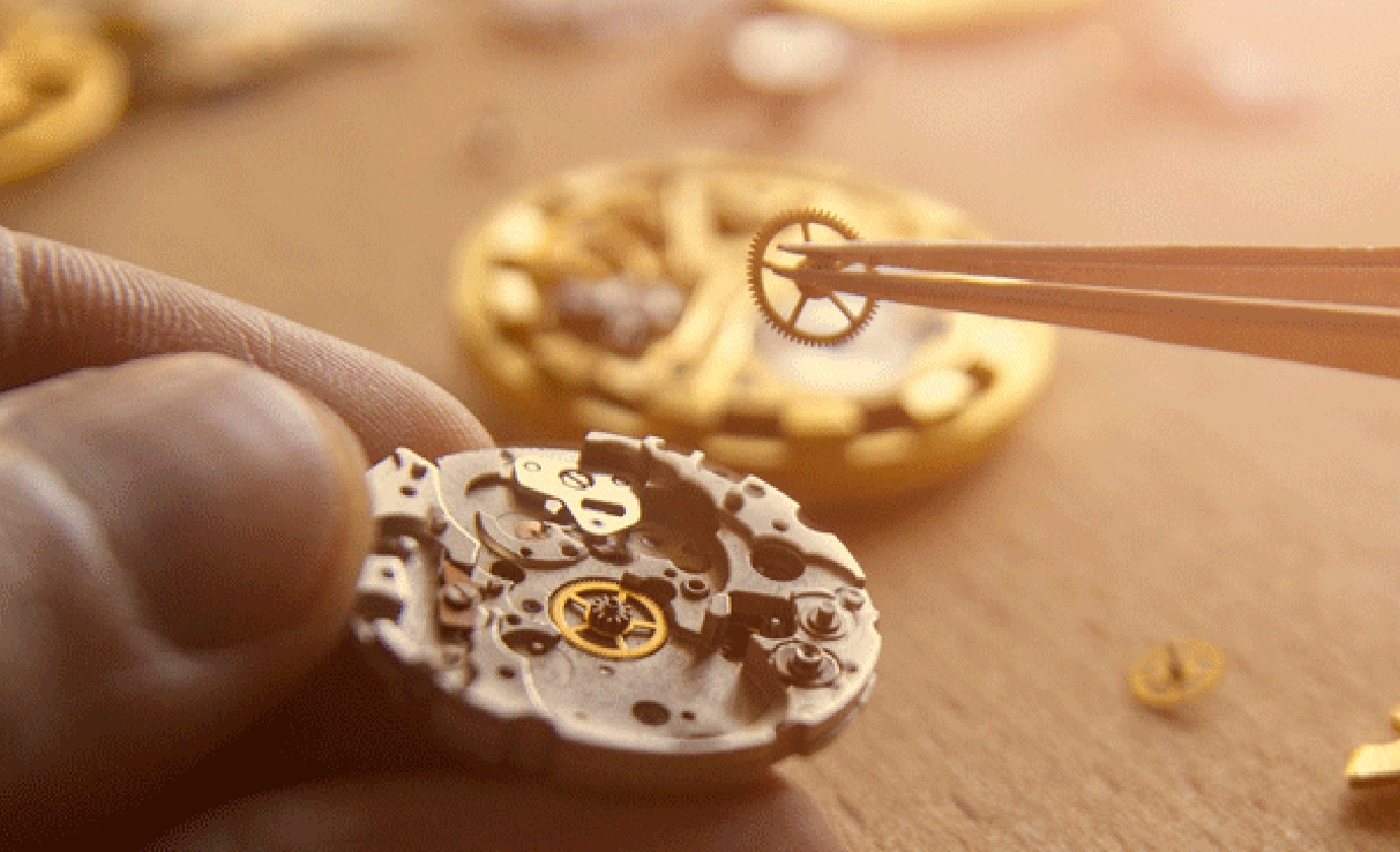 Our watchmaking workshop