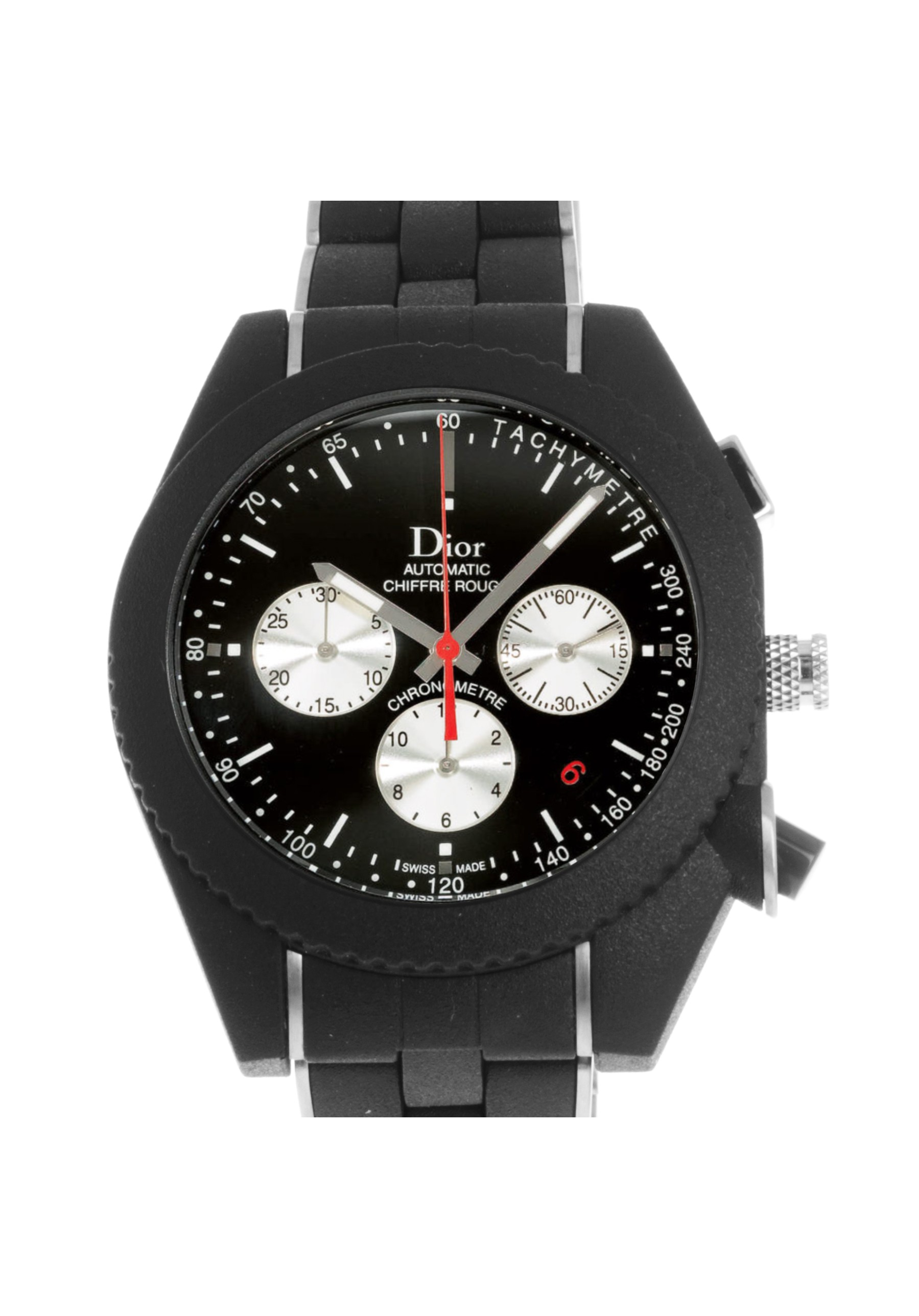 Pre Owned Dior Chiffre Rouge Watch Ref Cd084840r001 Cresus